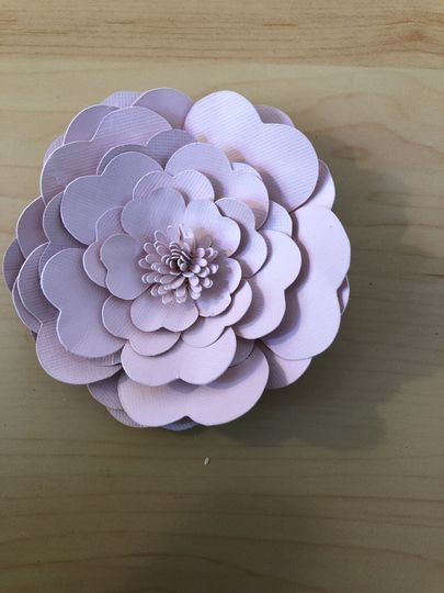 3 inch paper flower
