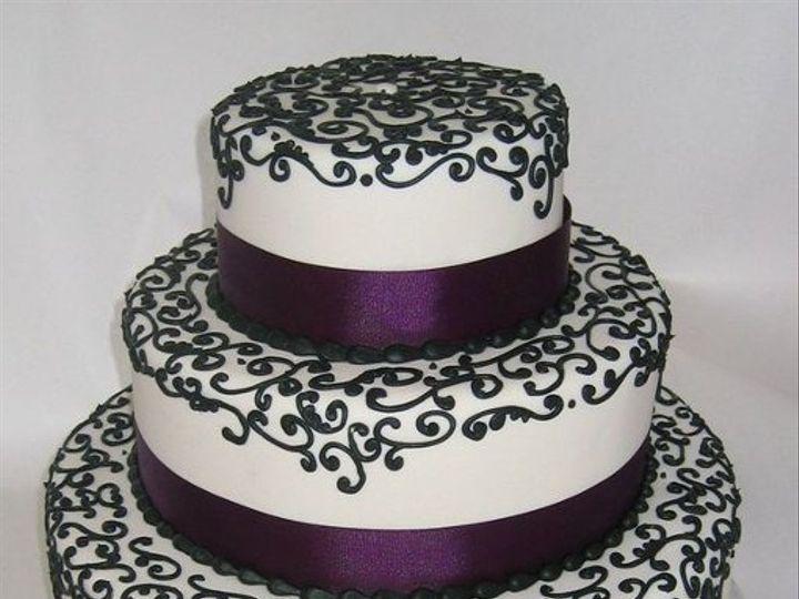 Tmx 1269207101597 VickyinFondant Littleton, Colorado wedding cake