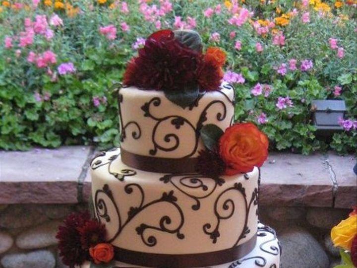 Tmx 1269207101972 SchweenScrolls Littleton, Colorado wedding cake