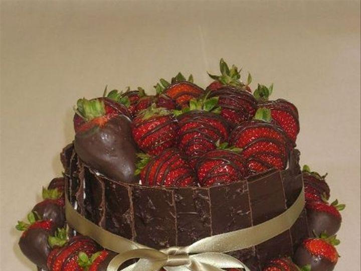 Tmx 1269207103738 ChocolateSlabs Littleton, Colorado wedding cake