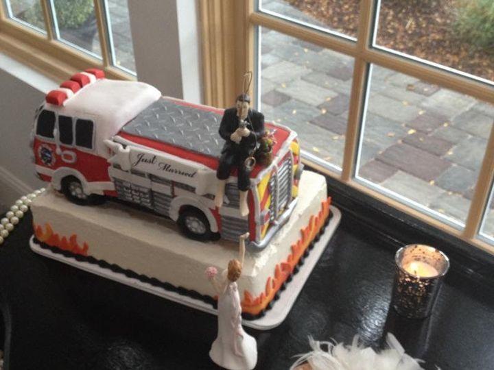 Tmx 1449567071741 Firetruck Grooms Cake Littleton, Colorado wedding cake