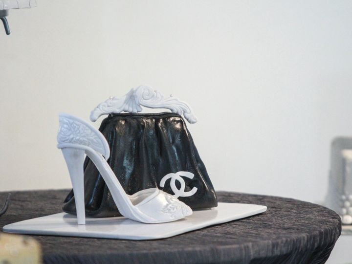 Tmx 1449567122464 Heel And Bag Littleton, Colorado wedding cake