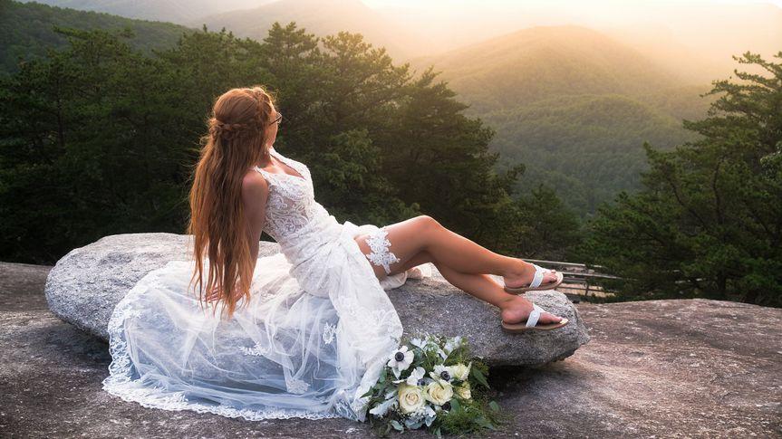Bridal At Stone Mountain
