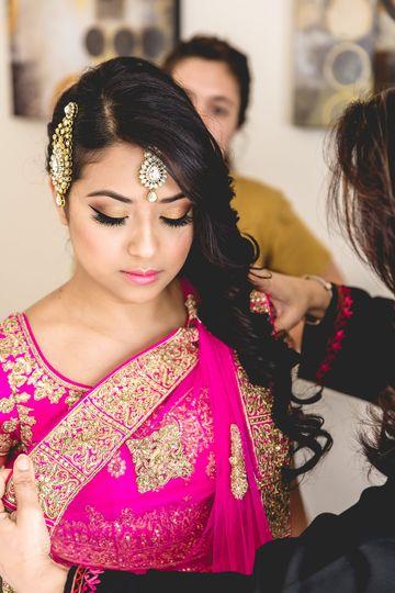 South Asian Bridal Makeup