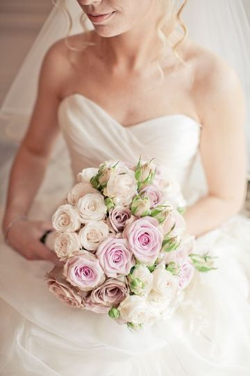 A beautiful bride bouquet