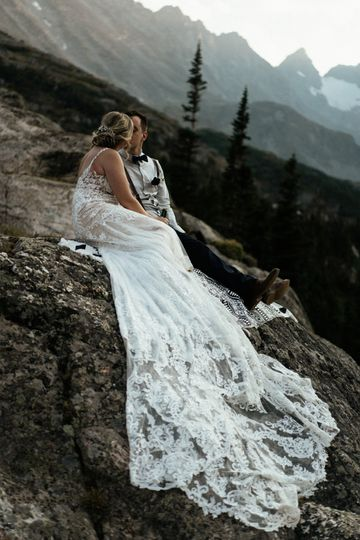 Estes Park destination wedding