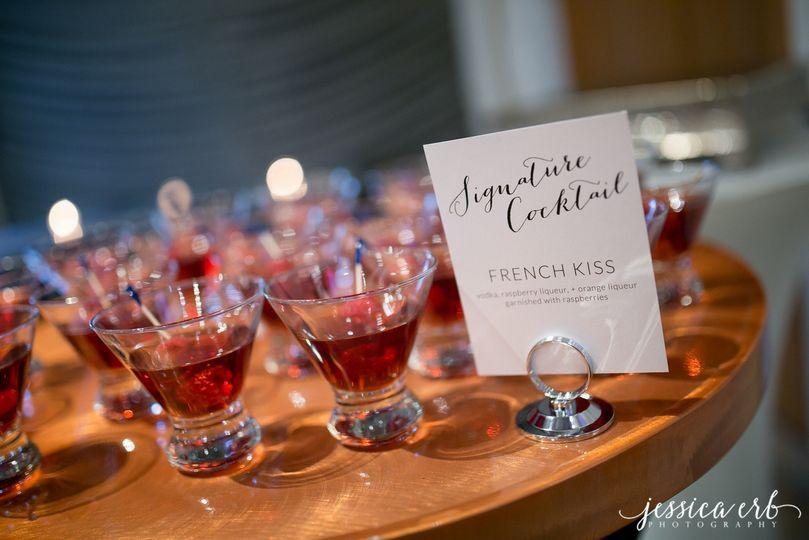 Cocktail samples