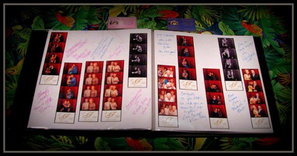 Qwik Picz Photo Booth Memory Book.