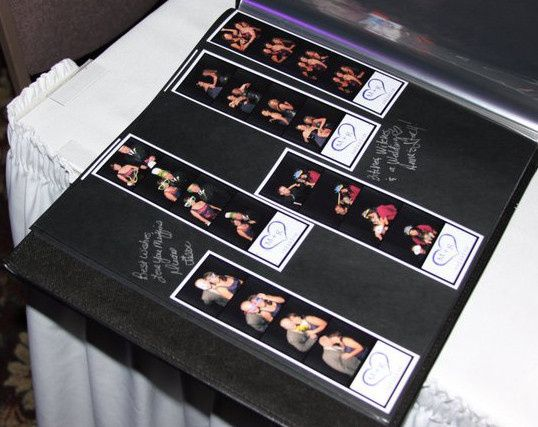 Qwik Picz Photo Booth Memory Book