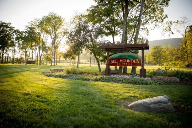 Bell Mountain Estates sign
