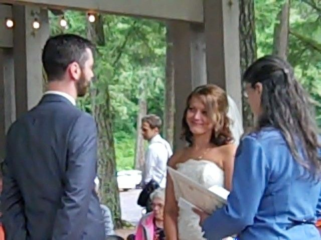 On Friday, June 27th, 2014, at 5:30pm, I was given the hono to officiate the lovely Wedding of Lydia...