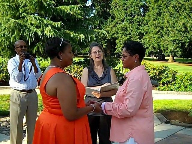 On July 31st, 2014, I was given the honor to officiate the Wedding of Carrie and Tammi of Texas, who...