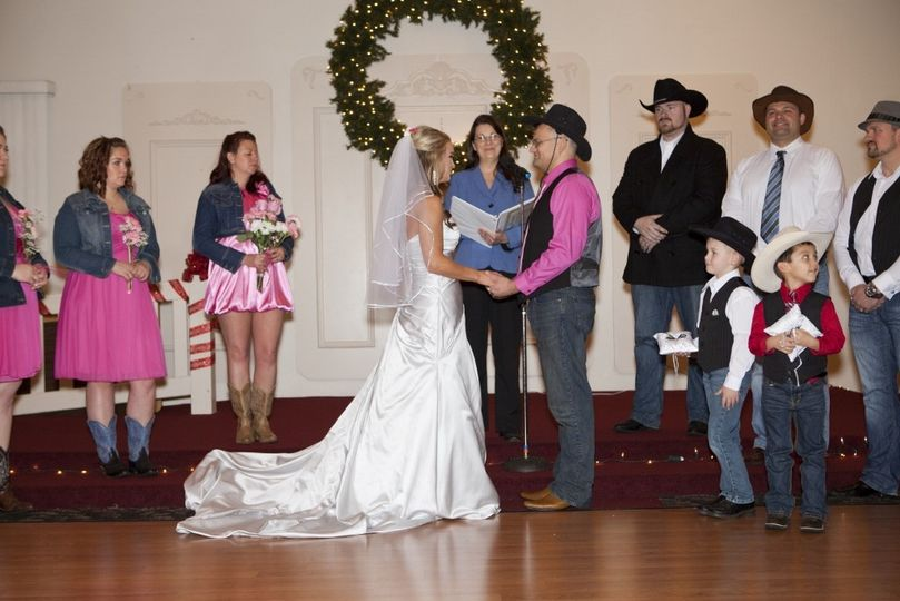 On Sat, Dec 20th, 2014, I was given the honor to officiate the Wedding Celebration of Caroline...