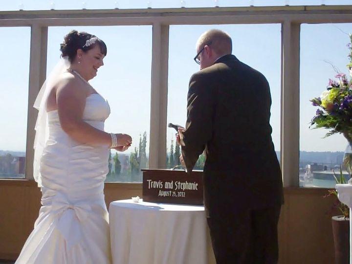 Tmx 1357682245047 StephanieTravisLoveLetterCeremony Vancouver wedding officiant