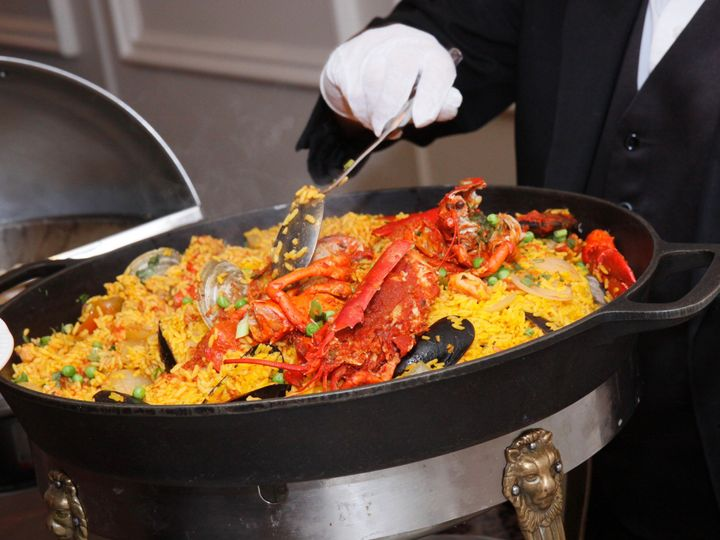 Tmx 1374632290315 Seafood Paella Floral Park, NY wedding venue