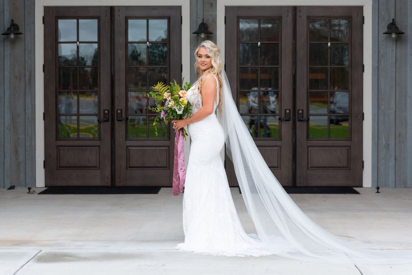 What a lovely bride.