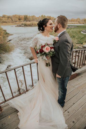 Rose river wedding