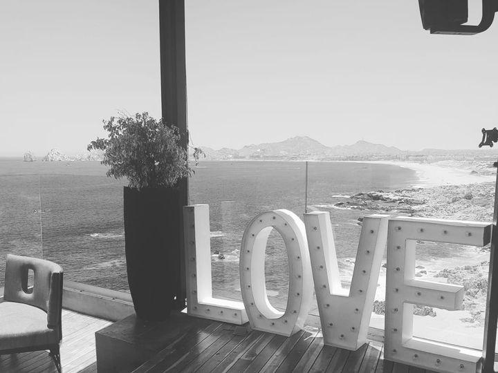 Tmx Black And White Love Sign The Cape 51 1007945 Cabo San Lucas, MX wedding dj