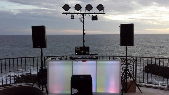 Tmx T Lights Dj Booth Set Up 51 1007945 Cabo San Lucas, MX wedding dj
