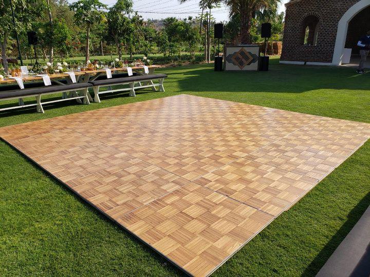 Tmx Wooden Dance Floor Pic At Flora Farm 51 1007945 Cabo San Lucas, MX wedding dj