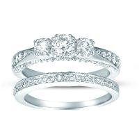 Tmx 1288029088656 3stonebridal Blue Springs wedding jewelry