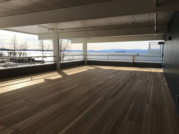 The deck