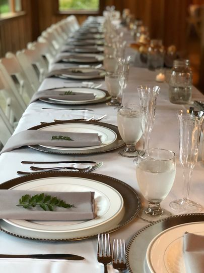 Place settings available