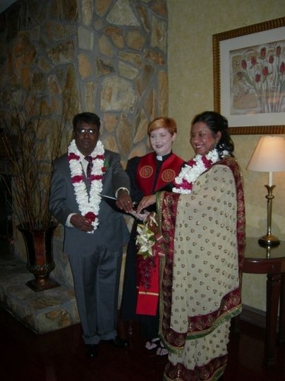 I love creating and officiating wedding services of all faiths. Suparna and Vijay celebrated their...