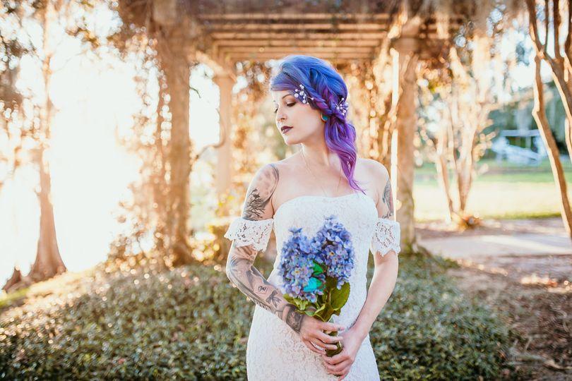 Beautiful bridal portrait