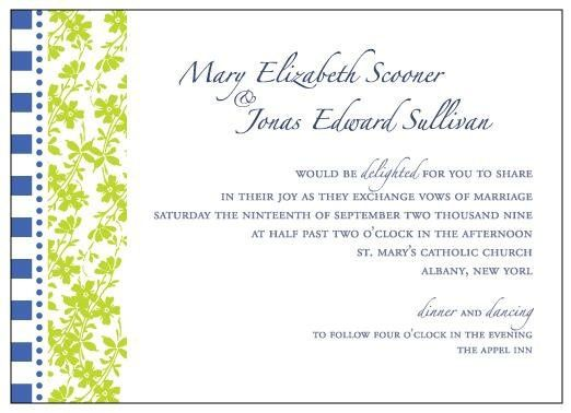 Tmx 1236103087045 Wedding29 Delmar wedding invitation