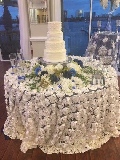 Simply white cake