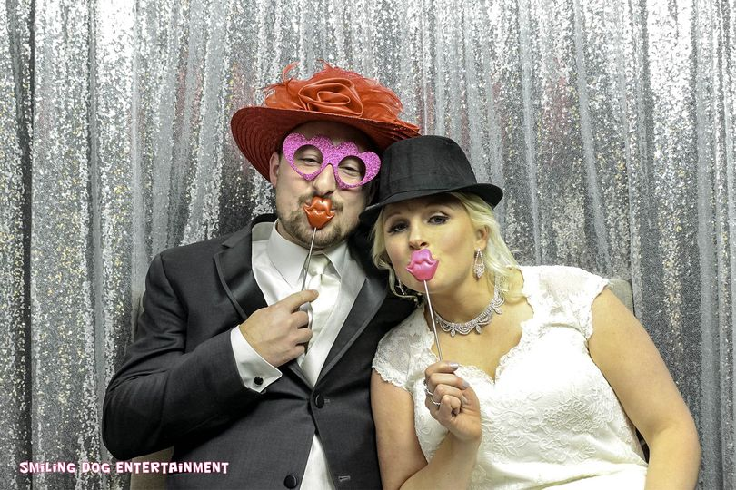 Enclosed Wedding Photo Booth