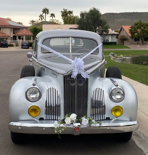 1941 Packard decorated