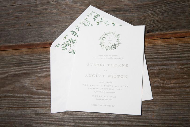 White classic envelopes