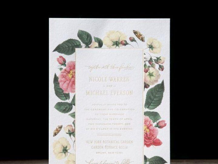 Tmx 1520523216 B7215b76d43b25f1 1520523158 2f1c19d2544a7fdd 1520523150918 12 Clio Invitation W Boston, Massachusetts wedding invitation