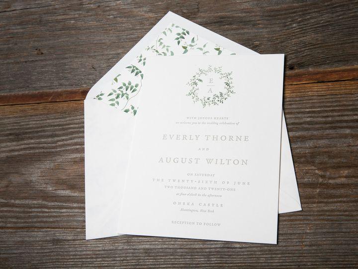 Tmx 1520530887826 Everly Liner Boston, Massachusetts wedding invitation