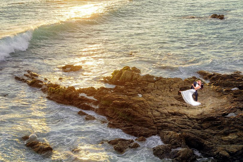 Punta de mita trash the dress