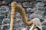 Harpist Laurie Leigh image