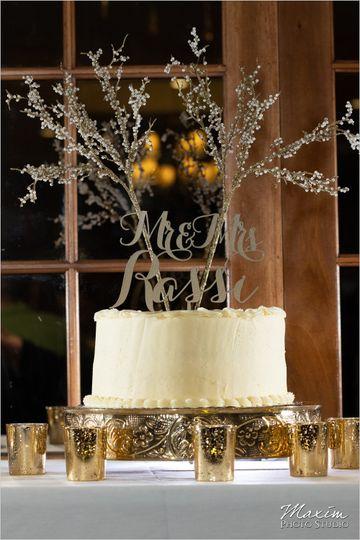 Custom designed cake toppers