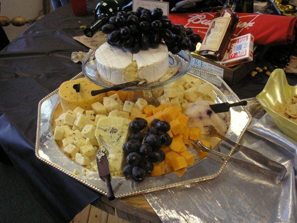 Cheese and fruit plate