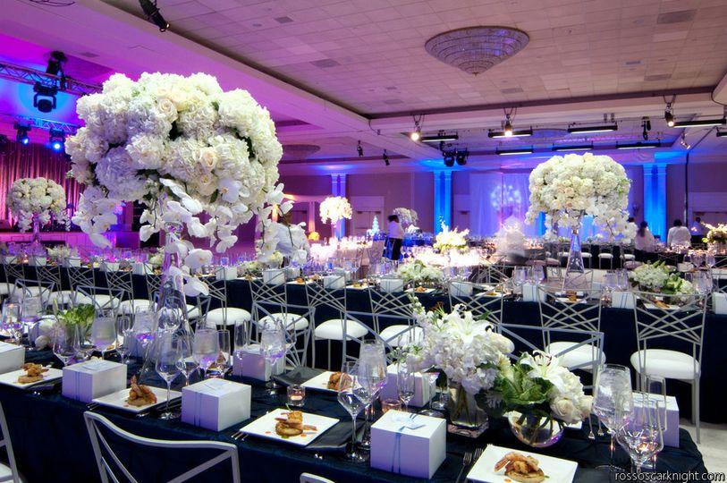 Big floral arrangements