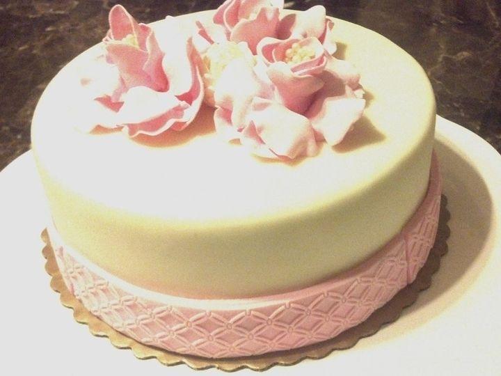 Tmx 1361331781459 RoseCake2 Frankfort wedding cake