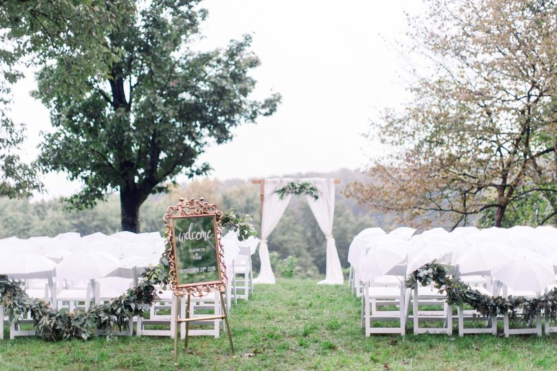Outdoor wedding | Madeleine Collins Photography