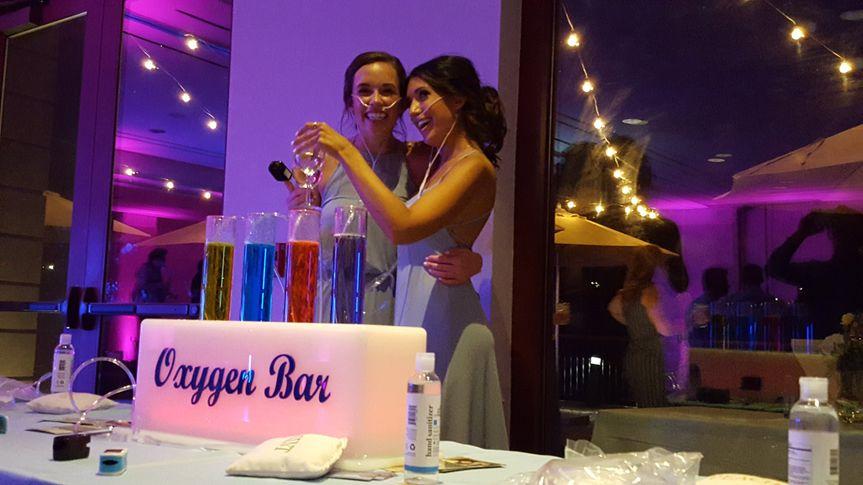 Using the oxygen bar