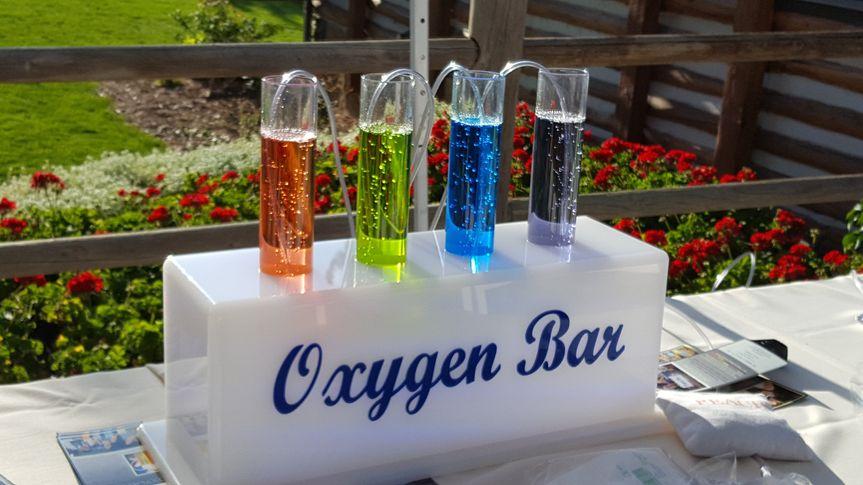 Oxygen bar display