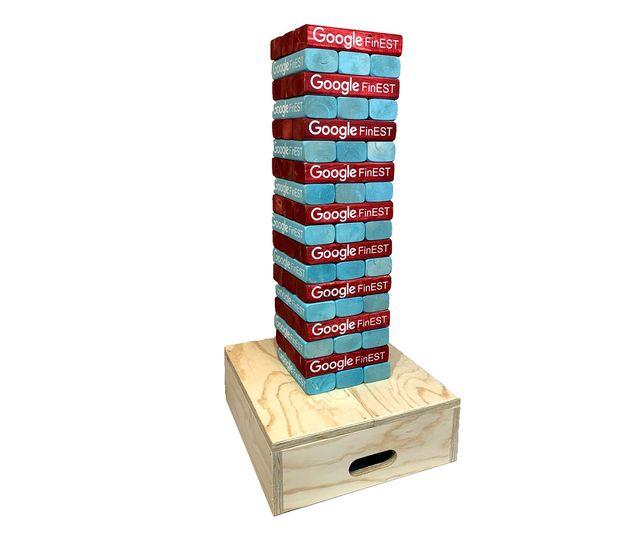 Custom tumble blocks