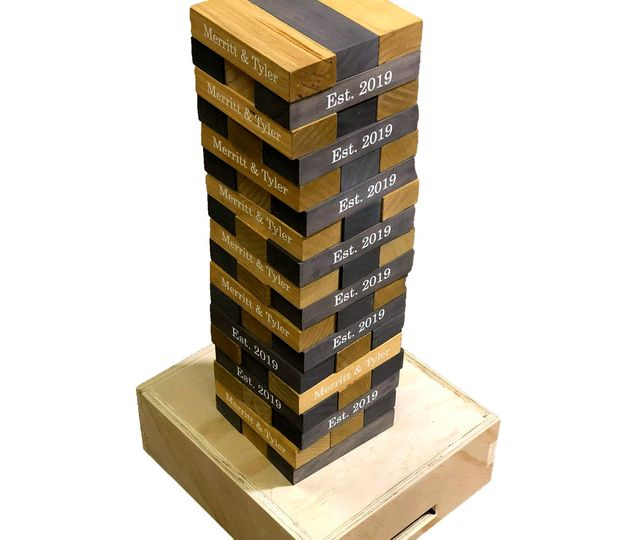 Stacked tumble blocks