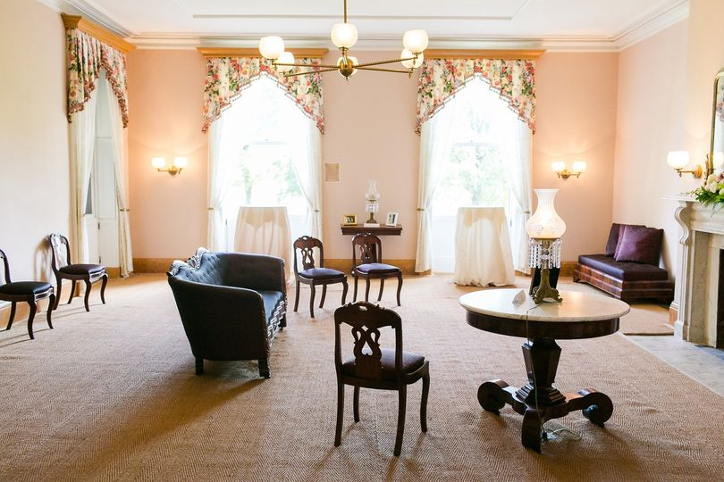 Cottage Interior: Drawing Room