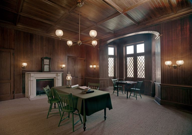 Cottage Interior: The Library