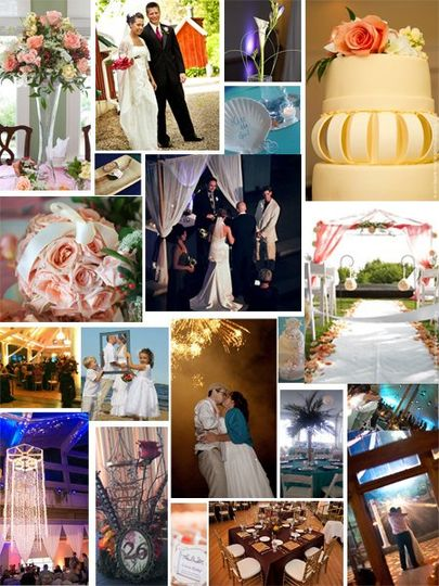 A sampling of Details, a professional planning company events.
